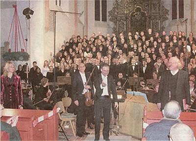 Weihnachtsoratorium 2006 (Foto: Sigrid Werner)