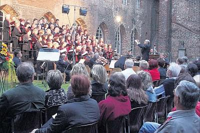 Klostergartenkonzert 2008 (Foto: Lisa Martin)