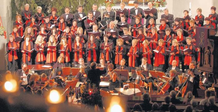 Weihnachtskonzert 2008 (Foto: Oliver Spitza)