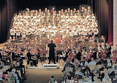 """IX. Sinfonie von Beethoven bei der Eröffnung des Festjahres """"775 Jahre Prenzlau"""" (Foto: Franz Roge)"""