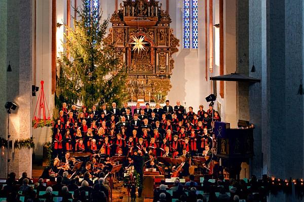 Weihnachtskonzert 2009 (Foto: Franz Roge)