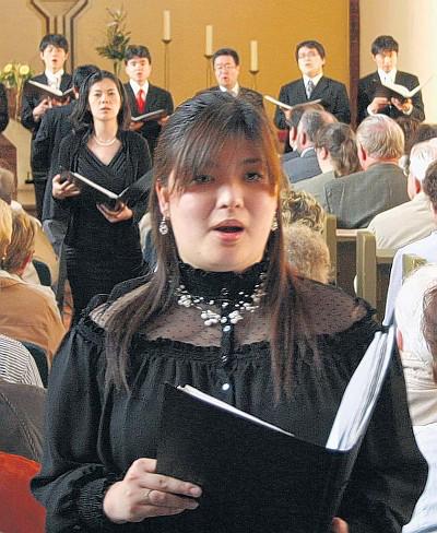 Elisabeth Singers aus Hiroshima (Japan) am 21. Mai 2010 in Prenzlau (Foto: Heiko Schulze)