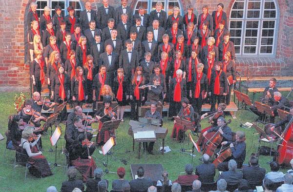 Klostergartenkonzert 2010 (Foto: LM)