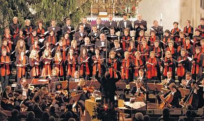 Weihnachtskonzert (Foto: Franz Roge)