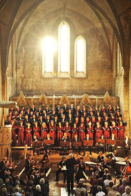 Chor der Camerata Nova Stettin und Uckermärkischer Konzertchor Prenzlau (Foto: Franz Roge)