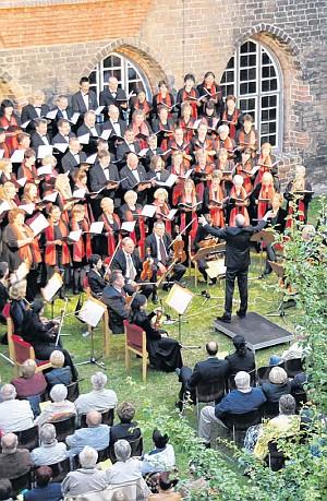 Klostergartenkonzert 2011 (Foto: Konzertagentur)