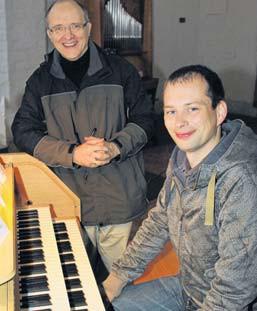 Jürgen Bischof (links) und Hannes Ludwig (rechts) (Foto: Oliver Spitza)
