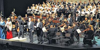 IX. Sinfonie in Schwedt/Oder (Foto: Stefan Csevi)