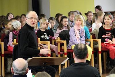 Probe zur Carmina Burana 2013 (Foto: Matthias Bruck)