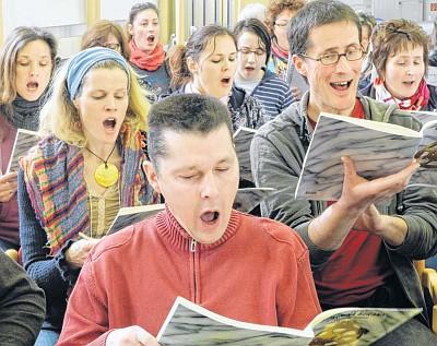 Probe zur Carmina Burana (Foto: Carla Kniestedt)