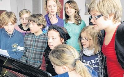 Probe zur Carmina Burana 2013 (Foto: Carla Kniestedt)