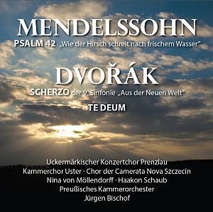 Die neue CD Mendelssohn und Dvorak