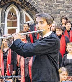 Aaron Dan beim Klostergartenkonzert 2014 (Foto: Heiko Schulze)