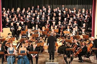 Konzert zum 25. Jahrestag des Mauerfalls in Prenzlau (Foto: Oliver Schwers)