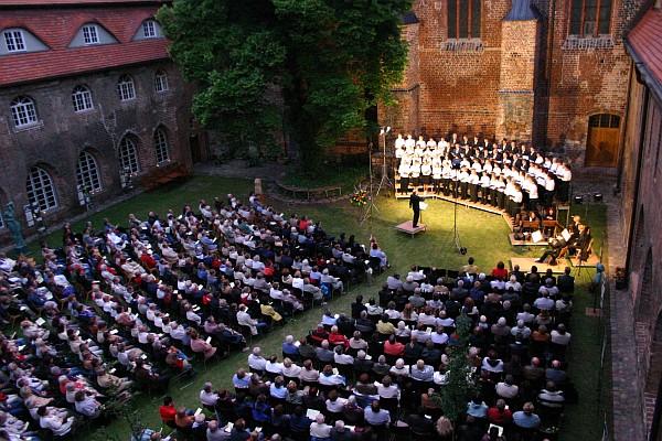 Klostergartenkonzert (Foto: Alexandra Martinot)
