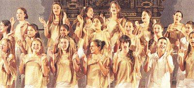 "Chor ""Moran Choir"" aus Israel (Foto: Franz Roge)"