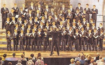 Dresdner Kreuzchor in Prenzlau (Foto: Franz Roge)
