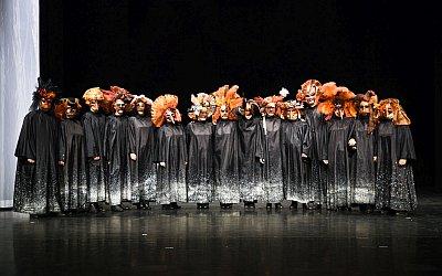 """Mitglieder desUMKC in den Kostümen für """"Amore mio"""" (Foto:Udo Krause); Mitglieder des UMKC in den Kostümen für""""Amore mio"""" (Foto: Udo Krause)"""
