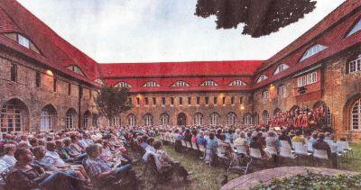 Klostergartenkonzert am 08.06.2018 (Foto: Franz Roge)