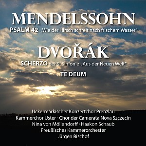 Cover CD Mendelssohn/Dvorak