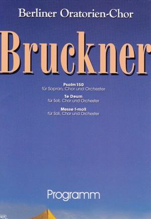 Cover DVD Te Deum (Anton Bruckner)