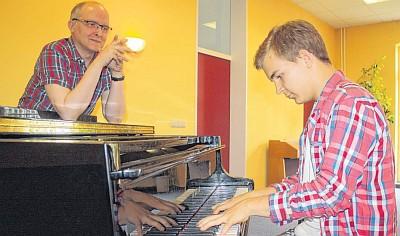 Oliver Wunderlich (rechts) (Foto: Monika Strehlow)