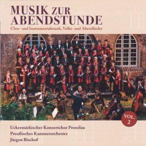 "Cover der CD ""Musik zur Abendstunde, Vol. 2"""