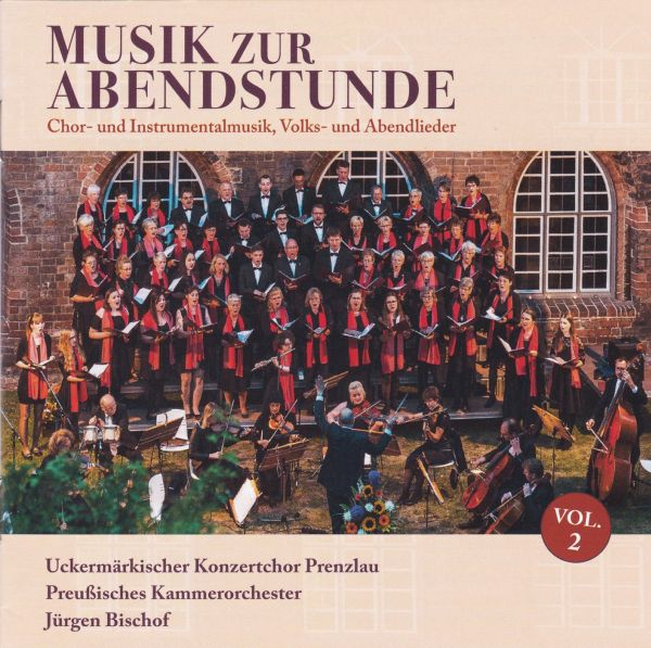 "Cover der CD ""Musik zur Abendstunde, Vol. 2"""